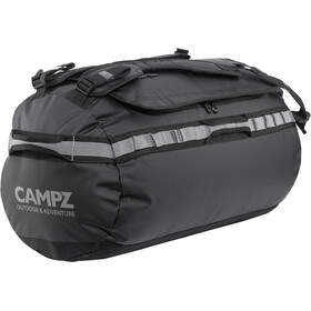 CAMPZ Duffel Bag 35l, black/grey